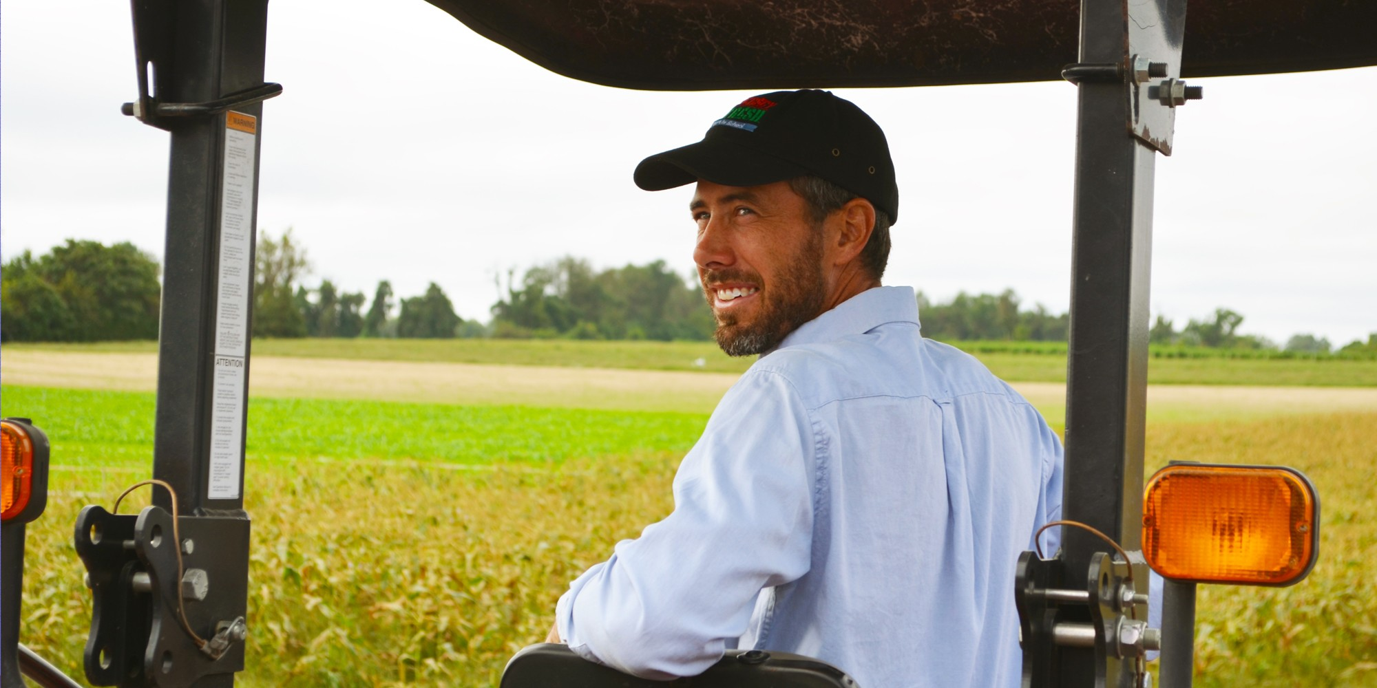Meet Eric Buzby, a 2nd Generation Farmer.